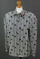 "Vintage AQUASCUTUM of London Ladies Long Sleeved SHIRT - Size 36"" / UK 12"