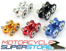 MOTORCYCLE MOTOBIKE SPORTS BIKE CNC MACHINED PADDOCK STAND BOBBIN SPOOLS