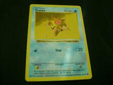 Pokemon Card Shadowless Staryu 65/102 1999 WOTC Vintage Base Set