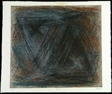 """DDR-Kunst/Informel. """"181"""" 1989 Radierung Ralf KLEMENT (*1950 D) handsigniert 8/9"""