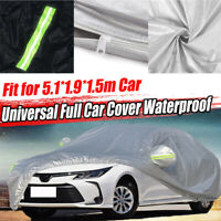 Full Car Cover for Saloon WaterProof Outdoor Dust UV Rain Protector 5.1*1.9*1.5m