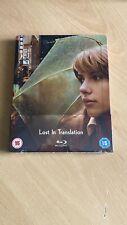 Lost In Translation Zaavi Blu-ray Steelbook Factory Sealed - Very Rare