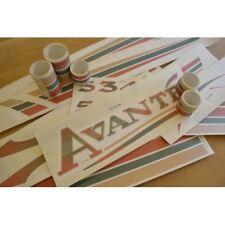 ELDDIS Avante - (2002)(STYLE 3) Caravan Stickers Decals Graphics - SET OF