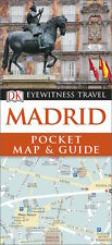 DK Eyewitness Madrid Pocket Map & Guide (Spain) *SALE PRICE FREE SHIPPING - NEW*