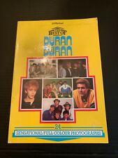 1984 The Best Of Duran Duran Photograph Book