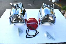 57 1957 Chevrolet Chevy Taillight Tail Light Housings Bezels
