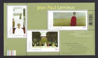 CANADA 2004 Jean Paul Lemieux Art Paintings Miniature sheet