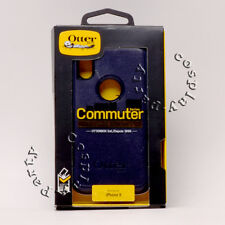 OtterBox Commuter 2-Layers Hard Snap Cover iPhone X iPhone Xs Case Navy Blue New