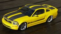 Rare 1:18 Ford Mustang Cesam Tuned Parotech Paris Toy Model Car Collectible