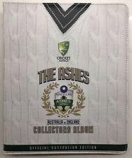 2017 /18 Tap n Play ..  Cricket Collectors Album & 100 Base Card Set.. THE ASHES