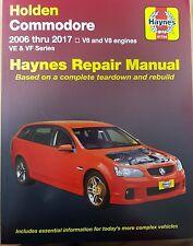 Holden VE Commodore Haynes Workshop Repair Manual NEW