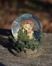 "Kim Anderson Forever Young snow globe ""Hide and Seek"" with box"