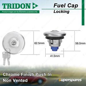 Tridon Locking Fuel Cap for Holden Statesman Sunbird Torana H Series HG - HZ