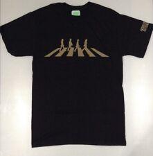 The Beatles Men's Abbey Road Silhouette T-shirt Black XL