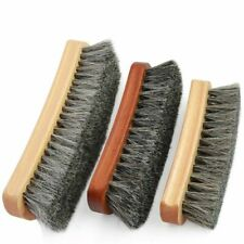 Superior Horsehair Brush Suede Soft Fur Shoes Cleaning And Dust Removal Tools