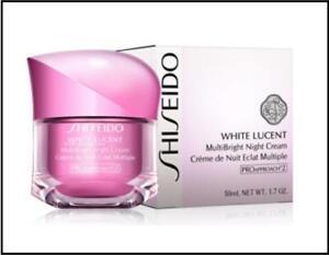 Shiseido White Lucent MultiBright Night Cream 1.7oz NIB Sealed