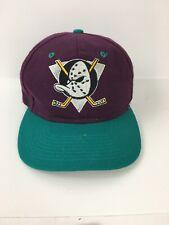 Snapback Anaheim Mighty ducks Wool Blend Logo 7, NHL  Vintage