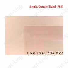 FR4 Copper Clad Plate Laminate PCB Circuit Board 7x10cm 10x15cm 15x20cm 20x30cm