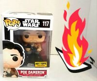 🔥 Funko Pop! Star Wars 117 Poe Dameron The Force Awakens FAST SHIPPING! L👀K⬇️