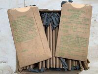 Genuine WW2 British Military Army Eye Shields Anti-Gas - 1944 Dated