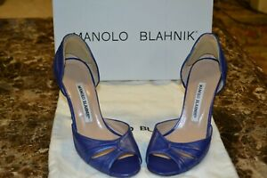 Manolo Blahnik Federa Rose Heels Purple 36/6