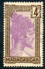TIMBRE DE MADAGASCAR N° 163 A OBLITERE JEUNE HOMME MALGACHE