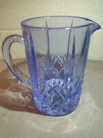 Marquis by Waterford Brookside Pastels Blue Pitcher