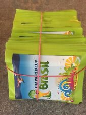 Panini WORLD CUP 2014 BRAZIL  Football Stickers - 100 x Sealed Packets.