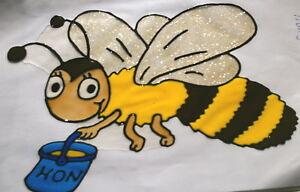 Window Color Fensterbilder Deko Honigbiene Biene