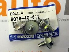 Exhaust manifold heatshield mounting bolt set, genuine Mazda MX-5 mk1 1.8, 93-98