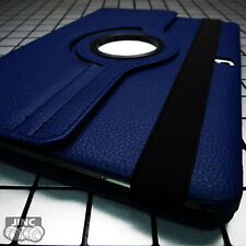 NAVY BLUE Leather Book Case BookCase Cover Pouch for Apple iPad Air3 Air 3 10.5""