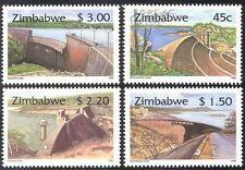 Zimbabwe 1996 dighe/acqua progetto/Irrigazione/Hydro-Electricity 4 V Set ref:n16633