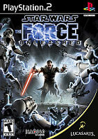 Star Wars: The Force Unleashed (Sony PlayStation 2, 2008) with Booklet