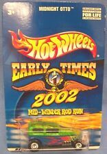 Hot Wheels Early Times 2002 Mid-Winter Rod Run Midnight Otto Blue 1/64 scale