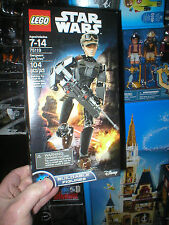 LEGO STAR WARS ROGUE ONE FIGURE JYN ERSO, NEVER OPENED
