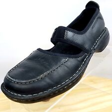 Merrell Mary Jane Womens Black Leather Shoes Loafers Size 7 Medium ( B, M )