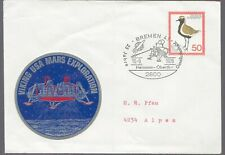 1976 Germany Viking Mission to Mars Cover Bremen 4
