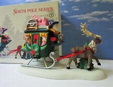 Dept 56 North Pole North Pole Sleigh Ride!