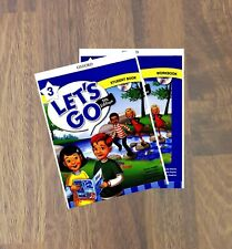 Let's Go 5th Edition Student Book And Workbook Level 3 With CD- ROM
