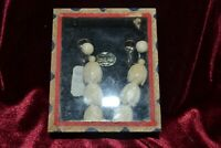 Handcrafted Faux Ivory Antique Jewelry Hong Kong Earrings Screw On Sterling