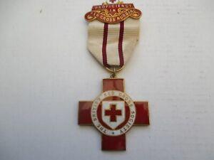 BRITISH RED CROSS NURSING MEDAL - 4833 WM VALENTINE