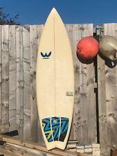 "Webber 6'4"" Surfboard+FCS fins+global board bag"