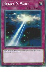 YU-GI-OH CARD: MIRACLE'S WAKE - SDCL-EN033 1ST EDITION