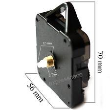 filetage 6mm Canon Long Mécanisme pour Horloge Mouvement Pendule