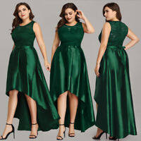 Ever-Pretty Women Lace Long Evening Party Dresses High Low Prom Ball Gowns 7702