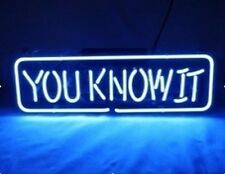 """15"""" x 5"""" -"""" You Know It"""" Characteristic Neon Light Signs"""