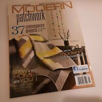 Modern Patchwork Magazine 2012 37 contemporary projects insert included