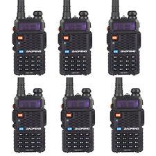 6 * Baofeng BF-F8+ V/UHF 136-174/400-520MHz 128CH FM Amateur Two-way Ham Radio