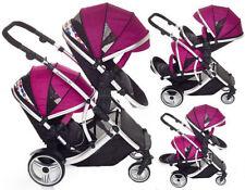 Poussettes et systèmes combinés de promenade avec capuche, auvent pour bébé