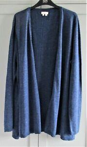 FAT FACE 100% cotton lightweight longer length summer cardigan size 20